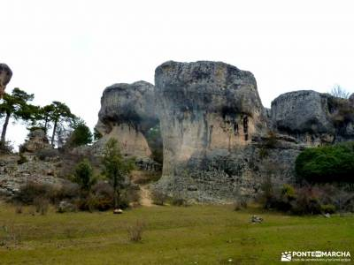 Nacimiento Río Cuervo;Las Majadas;Cuenca;serrada de la fuente parque natural de ponga burujon toled